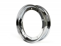 Wheel rim -BGM ORIGINAL 2.10-10', steel V2.0 - Vespa (type PX) - Vespa Smallframe V50, 50N, Special, PV, ET3, PK50-125 (S/XL/XL2), Largeframe PX, T5, Sprint, Rally, GT/GTR, LML Star, Deluxe - chrome