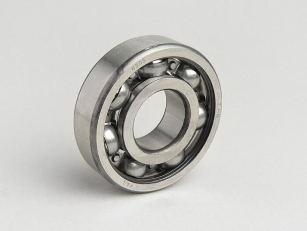 Rodamiento de bolas -6305- (25x62x17mm) - (para cigüeñal en el lado del embrague Lambretta LI, LIS, SX, TV (serie 2, serie 3), DL, GP)