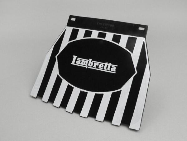 Faldón -CLASSIC Lambretta- negro/blanco