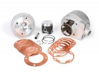 Cilindro -PARMAKIT TSV ECV Classic 17cc 3 travasi, corsa 57mm, scarico singolo- Vespa PX125, PX150, Cosa125, Cosa150, LML Star 125/150, Stella 125/150