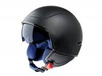 Helm -VESPA PJ1- Jethelm, schwarz matt - M (57-58cm)