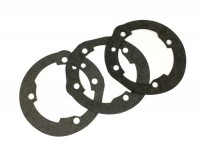 Gasket set for cylinder base -MALOSSI 210/221cc MHR/Sport- Vespa PX200, Rally200 - 0.25mm/0.50mm/0.75mm