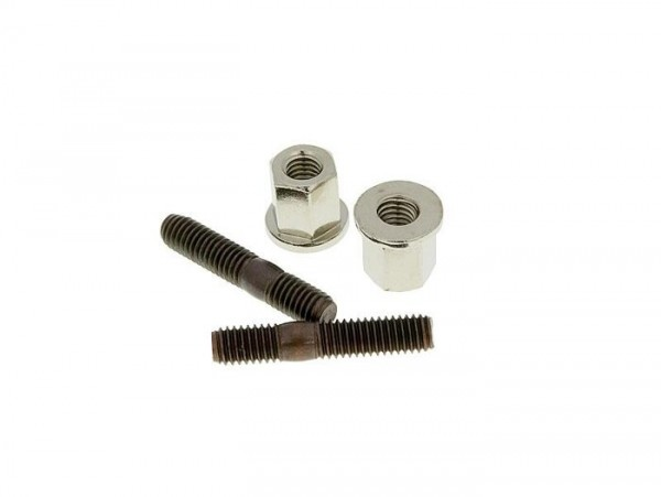 Stud -M6 x 32mm- (used for exhaust/cylinder) - 10 pieces