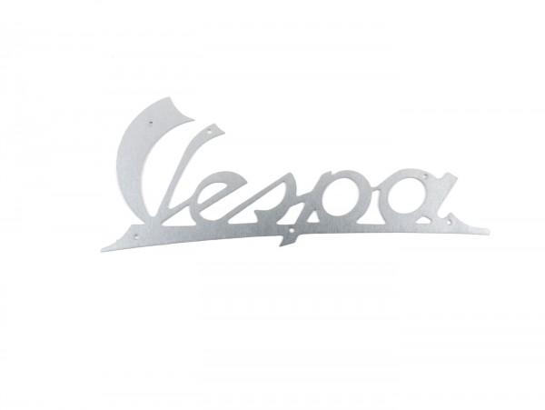 Schriftzug Beinschild -OEM QUALITÄT- Vespa - Vespa (bis Bj. 1957, nicht GS) - Silbern