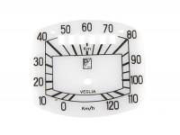 Speedo face -OEM QUALITY- Vespa GS150 / GS3 (VS2T till VS4T)