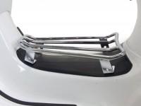 Portapacchi pedana -MOTO NOSTRA- Vespa GTS 125-300, GTV, GTL, GT - cromato