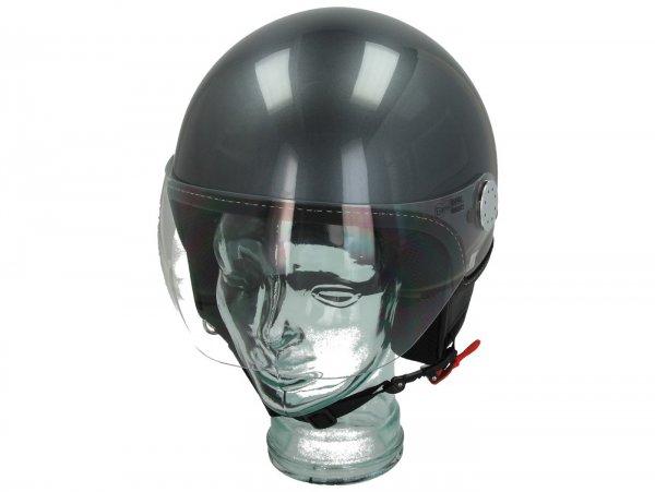 Helmet -VESPA Visor 3.0- grigio travolgente (G03) - L (59-60cm)