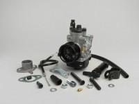 Kit Carburatore -MALOSSI 19mm Dellorto PHBG AS- Peugeot 50 ccm - AM=23mm - HONDA BALI 50, DIO, SFX, SGX SKY, SH 50, SHADOW 50, X8RS, X8RX, SXR, PEUGEOT BUXY 50, ELYSEO 50, ELYSTAR 50, SPEEDAKE, SPEEDFIGHT 50, SQUAB 5