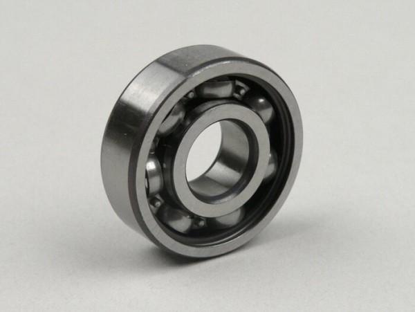 Ball bearing -6201 RSR (single side sealed)- (12x32x10mm) - (used for front wheel / brake drum all, Lambretta models, Vespa PX (-1982))