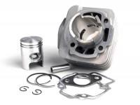 Zylinder -BGM ORIGINAL 50 ccm Aluminium- Piaggio AC 2-Takt