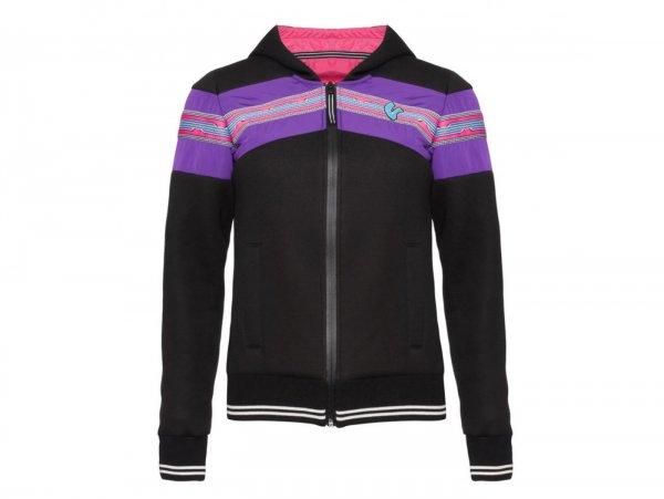 "Hoodie -VESPA Woman ""V-Stripes""- black  XL"