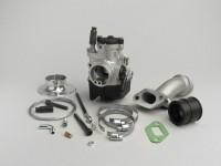 Kit Carburatore -MALOSSI 2-buci, 25mm Dellorto PHBL, valvola di registro- Vespa V50, PV, ET3