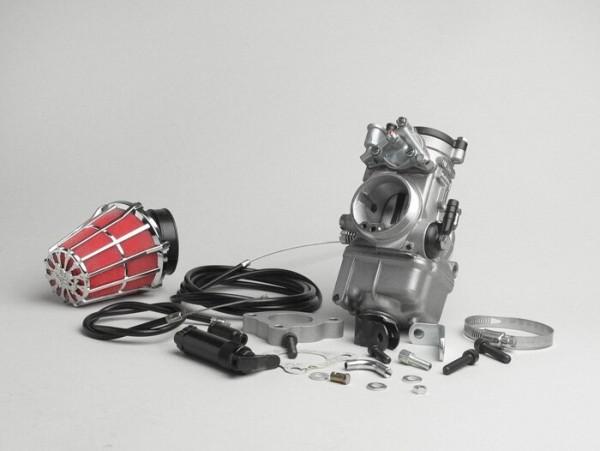 Vergaserkit -MALOSSI MHR Dellorto PHF 34- Piaggio Leader LC - AW=40mm