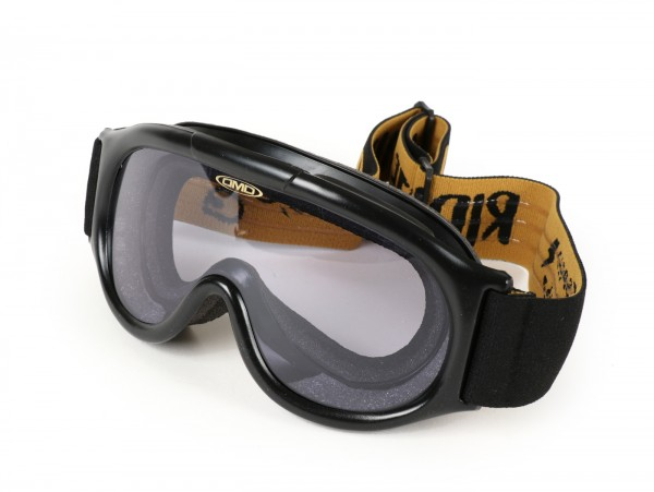 Motorcycle goggles -DMD Seventyfive/Racer Ghost- smoke