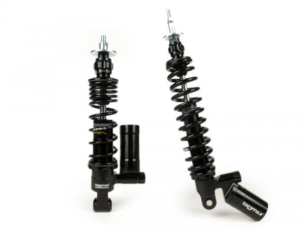 Stoßdämpfer-Set -BGM PRO SC/F16 COMPETITION- Vespa Primavera 125, Vespa Primavera 150, Vespa Sprint 125, Vespa Sprint 150 - schwarz