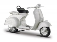 Model -MAISTO 1:18- Vespa 150 (1956) - light grey