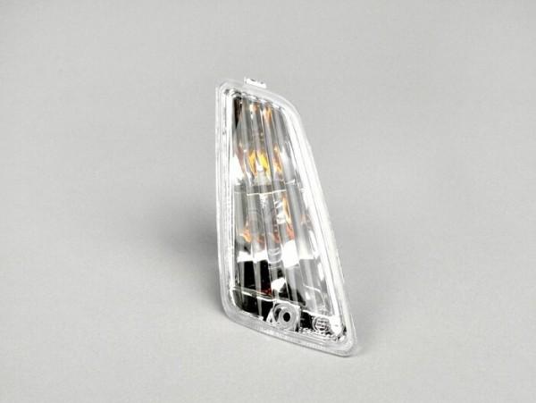 Intermitente -PIAGGIO Siem- Vespa GT, GTL, GTV, GTS 125-300 (-2013) - incoloro - cristal sin estriados - delantero derecho