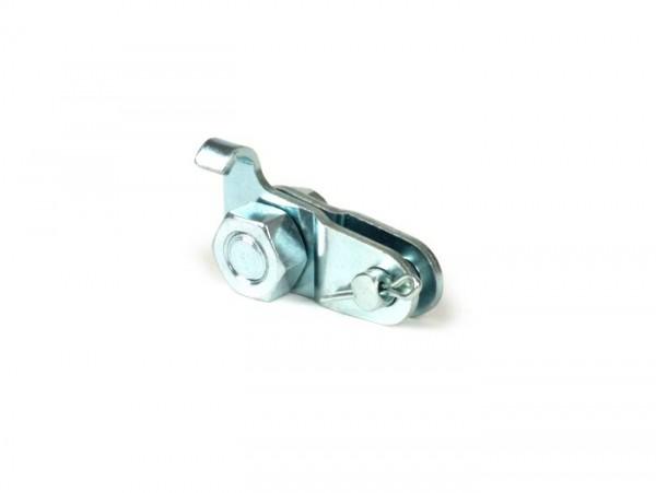 Front brake cable clamp set -BGM ORIGINAL- all Vespa models (-1981), Vespa PX (-1984)