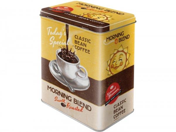 "Tea box -Nostalgic Art- ""Morning Blend"", 10 x 14 x 20cm"