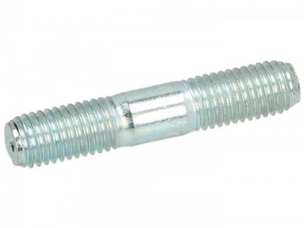 Stehbolzen -M7 x 37mm -PIAGGIO- (verwendet für Auslass Zylinderkopf Piaggio Leader, Quasar, HPE)