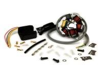 Zündung-Set -BGM PRO Grundplatte HP V4.0 DC 12V + Wassell/PODtronic Spannungsregler- Lambretta elektronische Zündung