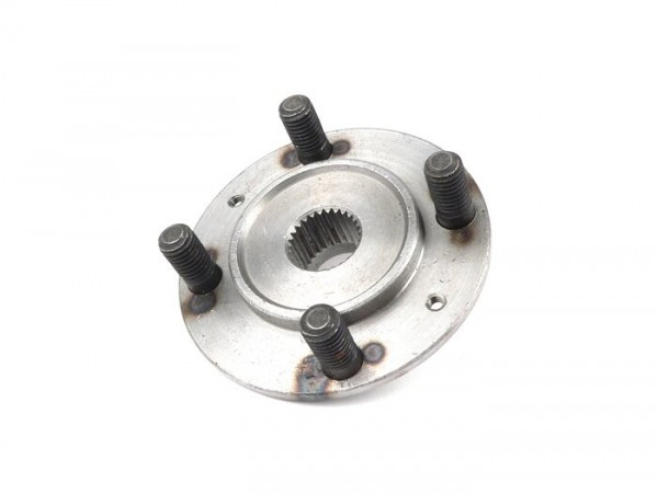 Rear brake hub -OEM QUALITY sutds Ø=10mm, coarse tooth (27 tooth)- Vespa Wideframe VM, VN, VL, VB, VAA, VNB1T-VNB2T, VBA1T, VBB1T (-71000)