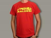 T-Shirt -MALOSSI- red - medium