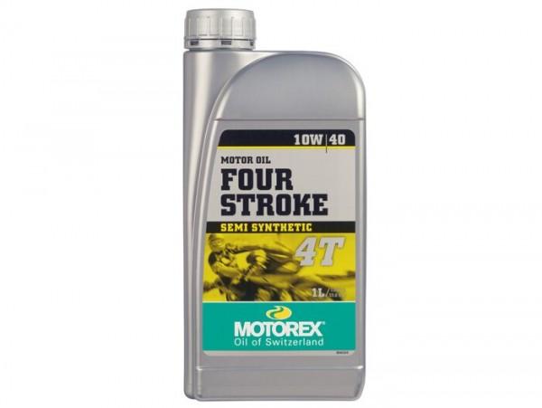 Öl - Motoröl -MOTOREX Four Stroke- 4-Takt SAE 10W-40 synthetisch - 1000ml