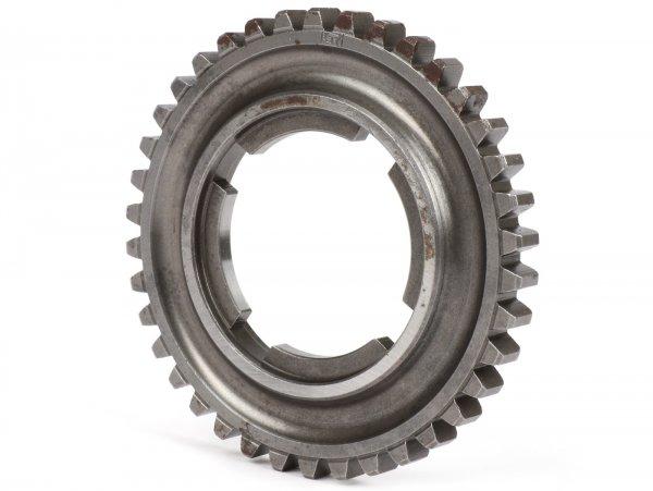 3rd gear cog -OEM QUALITY- Vespa PX EFL 125ccm, 150ccm, 200 ccm, T5 125ccm, Cosa, LML Star/Stella 2-Takt - 38 teeth