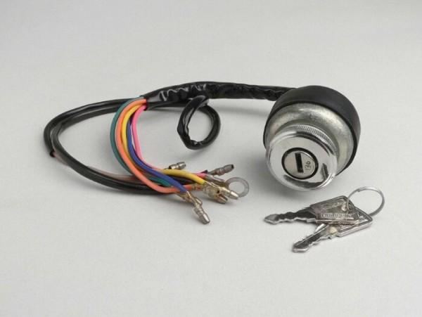 Zündschloss -LAMBRETTA- LI (Serie 3), LIS, SX, TV (Serie 2-3), DL, GP - Modelle ohne Batterie