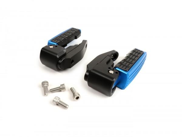 Reposapiés -BIKERS- Vespa GT, GT L, GTS 125-300, GTV, GTS 125-300 Super - azul