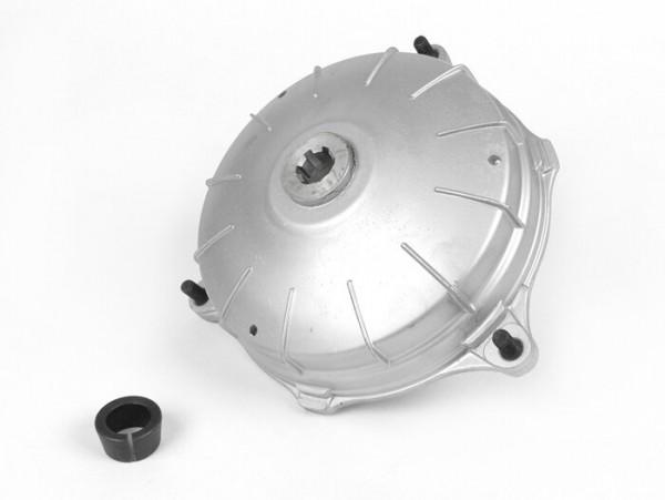 "Bremstrommel hinten -FA ITALIA 10""- Lambretta J100, J125, J50 DeLuxe, J50 Special - unlackiert"