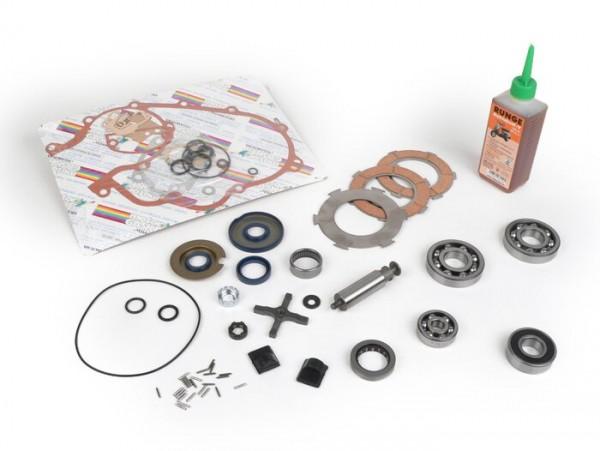 Engine repair kit -VESPA- 125cc/150cc 2 tranfer ports - Vespa Sprint150 (VLB1T), GT125 (VNL2T), GL150 (VLA1T), Super, VNB5T, VNB6T, VBB1T (1736-)