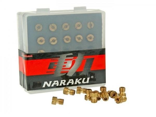 Hauptdüsenset -NARAKU (Typ: 99101-393) passend für CVK 5mm- (100-120) - (100-102-104-106-108-110-112-114-116-118-120)