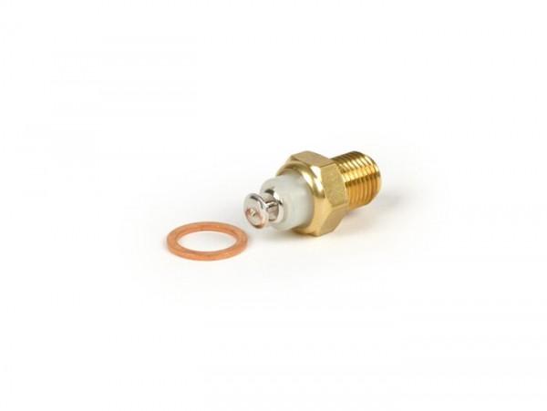 Sonda térmica en la culata -CALIDAD OEM- Piaggio 50-180 ccm LC 2 tiempos, Leader 125-200 ccm LC, Quasar 250-300 ccm - un contacto