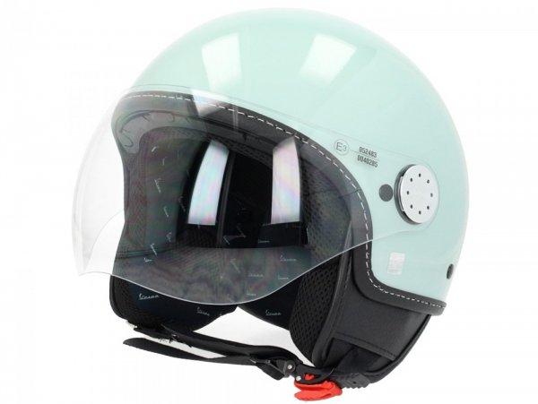 Helmet -VESPA Visor 3.0- green relax (350/A) - L (59-60cm)