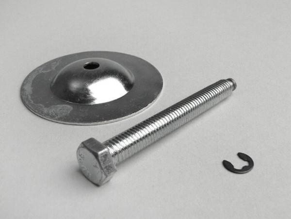 Schraube für Reserveradhalter oben -MADE IN VIETNAM- Vespa SS50, SS90