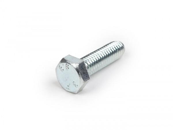 Schraube -DIN 931- M6 x 25mm (8.8 Festigkeit) - (verwendet für Kupplungsdeckel Vespa PX, Cosa, T5 125ccm, Rally, Sprint, TS, GT, GTR, GL, SS 180, GS 160, VBA, VBB, VNA, VNB)