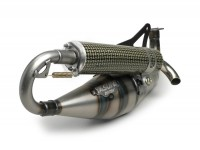 Marmitta -YASUNI Carrera 21- Minarelli 50cc (cilindro orizzontale)