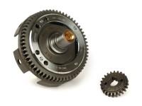 Coppia trasmissione primaria -DRT Gear Flame- Vespa V50, PV125, ET3, PK50, PK80, PK125 - 23-60 = 2.61 (denti diritti)