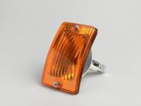 Blinker -PIAGGIO- Vespa PK50 XL, PK125 XL vorne links - Orange