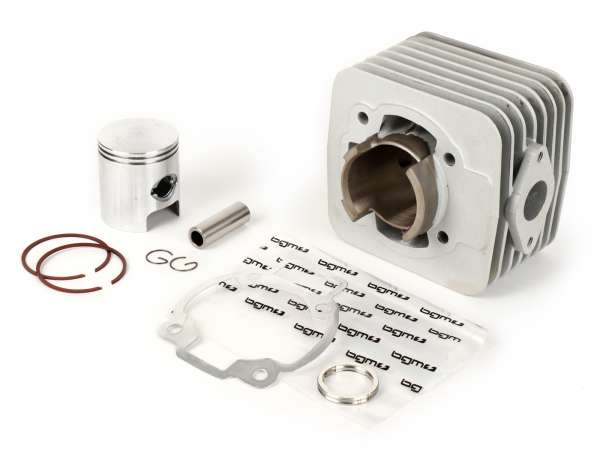 Zylinder -BGM ORIGINAL 125 ccm- Piaggio AC 2-Takt Maxi - Piaggio SKR125, Skipper125, Aprilia SR125