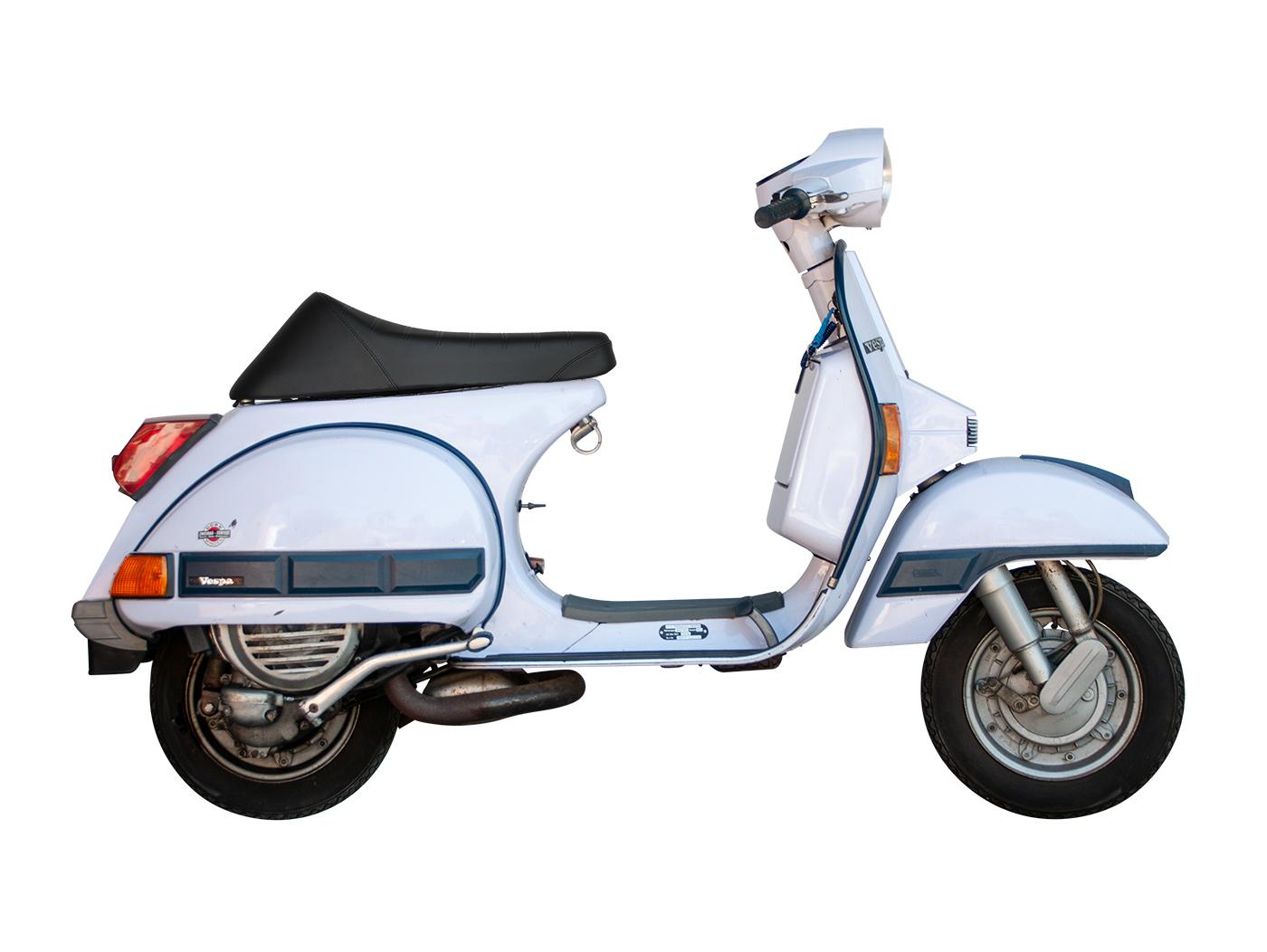 """Sportsitzbank /""""Scooter/"""" Vespa PV V50"""