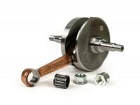 Crankshaft -MALOSSI (rotary valve) 57mm stroke- Vespa PX200, Cosa 200