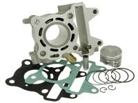Cylinder -NARAKU 50 cc- Minarelli 50 cc LC (4-stroke, 3 valves)