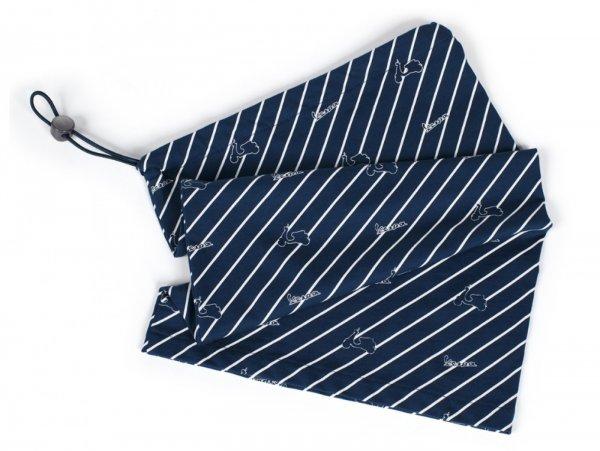 "Scarf/neck warmer- VESPA ""Graphic""- blue"