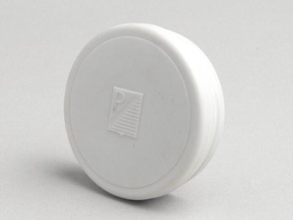 Tachoblende -OEM QUALITÄT- V50 mit rundem Tacho - rechteckiges Logo