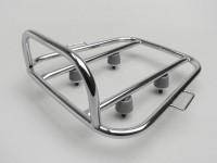 Portapacchi posteriore -AMS CUPPINI Sprint Rack- Lambretta LI (serie 3), LIS, SX, TV (serie 3), DL, GP - cromato