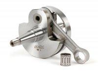 Crankshaft -POLINI Racing (rotary valve) 60mm stroke- Vespa PX125, PX150, Cosa 125