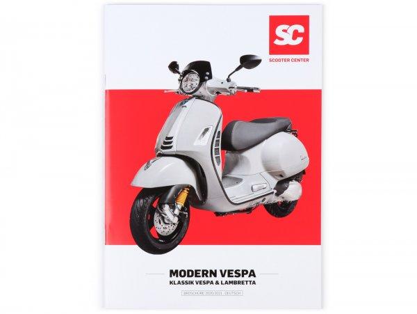 Catalog - brochure -SC MODERN VESPA + KLASSIK- edition 2020/2021 - german